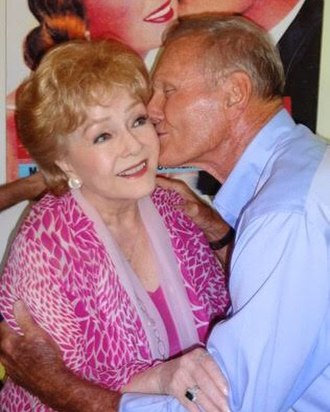 Tab Hunter - Tab Hunter with Debbie Reynolds in January 2016