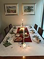 Table set up for Boxing Day dinner in a private residence in Brisbane, 2017.jpg
