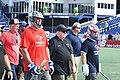 Tailgate Bayhawks Game Navy Marine Corps Memorial Stadium (28154005797).jpg