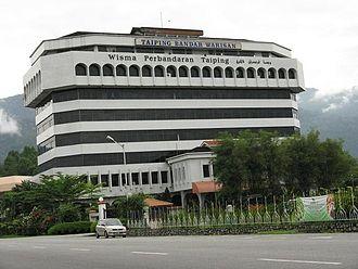 Taiping Municipal Council - Image: Taiping Municipal panoramio