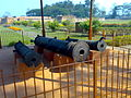 Talatal Ghar Cannons guarding the palace.jpg