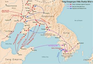 Goguryeo–Tang War