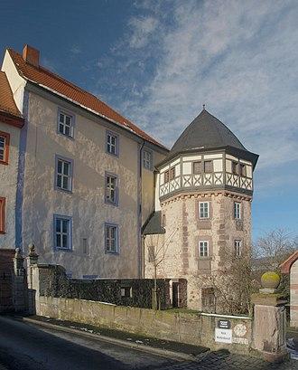 Tann, Hesse - Tann blue castle