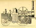 16 Horsepower traction engine exhibited by Taplin of Lincoln
