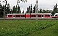 Tatrabahn mit zwei Stadler-Gelenktriebwagen I0321 Bw Poprad TEŽ 425.960-2.JPG