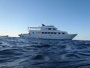 Liveaboard - A SCUBA liveaboard vessel on the Red Sea