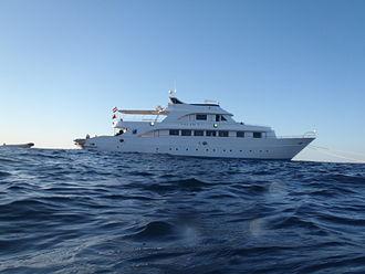 Liveaboard - A SCUBA liveaboard vessel on the Red Sea