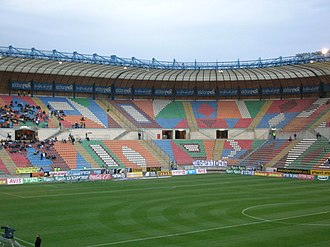 2013 UEFA European Under-21 Championship - Image: Teddy Kollek Stadium Inside