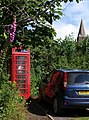Telephone box, Slapton - geograph.org.uk - 1363158.jpg
