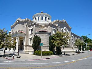 Temple Sinai (Oakland, California) - Image: Temple Sinai First Hebrew Congregation of Oakland 2