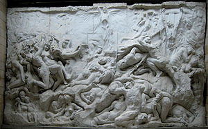 Temple of Human Passions - Detail of the relief made by Jef Lambeaux showcased in the Temple of Human Passions