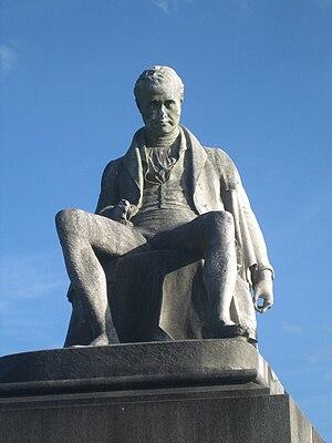 Charles Tennant - Statue (1838), Glasgow Necropolis