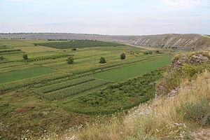 Merit (Buddhism) - Image: Terenuri cultivate în lângă Orheiul Vechi