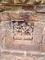 Terracotta works on the temple walls of Brindaban Chandra's Math.jpg