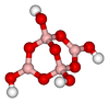 The structure of the anion [B4O5(OH)4]2− in borax