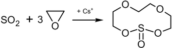 Synthesis of 1,3,6,9,2 λ 4-Tetraoksatia-2-tsikloundekanona