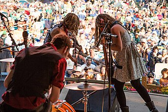 The Accidentals - Main Stage Blissfest in 2015
