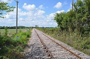 Aldeburgh branch line - The railway stub near Leiston