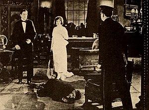 Joseph Singleton - Singleton dead on the floor in The Bait (1921)