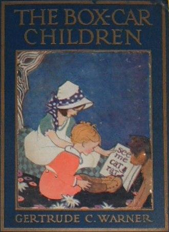 The Boxcar Children - Image: The Box Car Children 1924