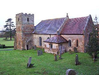 George Huddesford - Huddesford's church in Loxley
