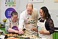 The Duke and Duchess Cambridge at Commonwealth Big Lunch on 22 March 2018 - 063.jpg