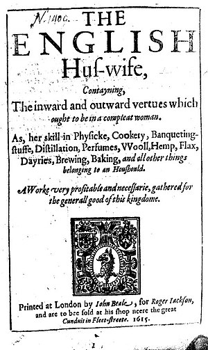 The English Huswife - Title page