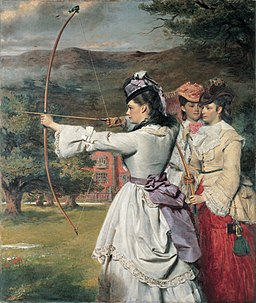 The Fair Toxophilites William Powell Frith RAMM