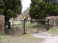The Gates to Peasenhall Cemetery - geograph.org.uk - 1744078.jpg