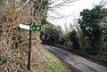 The Greensand Way signpost, Barn Hill - geograph.org.uk - 1158310.jpg