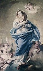 Giovanni Domenico Tiepolo: The Immaculate Conception