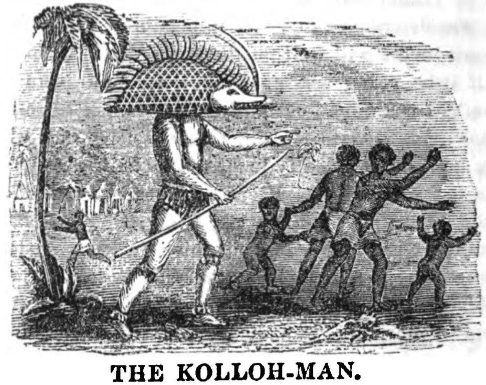 The Kolloh-Man (January 1853, X, p.6) - Copy