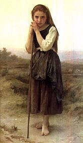 The Little Shepherdess by William-Adolphe Bouguereau.jpg