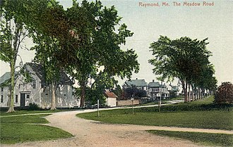 Raymond, Maine - Image: The Meadow Road, Raymond, ME