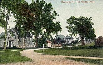 Raymond, Maine - Image: The Meadow Road, Raymond, ME