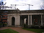 The Peace Garden - Doric loggia moved from Broad Street - colonnade (3626157599).jpg