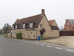 Merton, Oxfordshire - The Plough public house, which has ceased trading