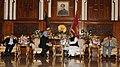 The Prime Minister, Dr. Manmohan Singh meeting the President of Bangladesh, Mr. Mohammad Zillur Rahman, in Dhaka, Bangladesh on September 07, 2011 (1).jpg
