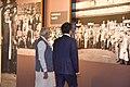 The Prime Minister, Shri Narendra Modi and the Prime Minister of Japan, Mr. Shinzo Abe visit Dandi Kutir, in Gandhinagar, Gujarat on September 14, 2017 (5).jpg