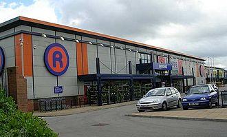 The Range (retailer) - The Range, Tulip Retail Park, Leeds (2007)