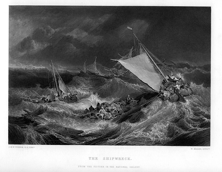 File:The Shipwreck engraving by William Miller after Turner.jpg