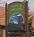 The Sign of the Hope and Anchor - geograph.org.uk - 730769.jpg