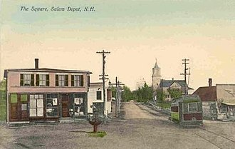 Salem, New Hampshire - The Square in 1908