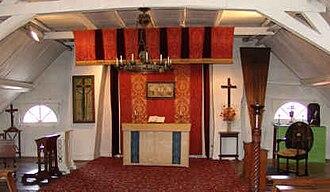 Toc H - The Upper Room at Talbot House, Poperinge
