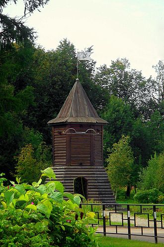 Toropets - The Watchtower is a symbol of Toropets