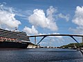 The Westerdam and the bridge in Curaçao.jpg