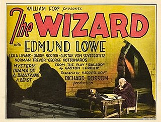 <i>The Wizard</i> (1927 film) 1927 film by Richard Rosson