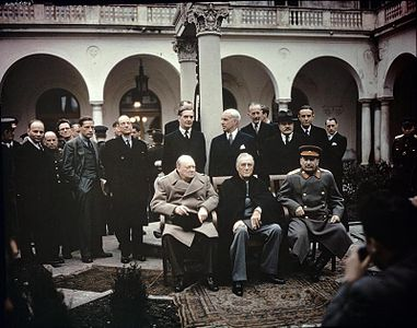 yalta and potsdam conferences definition