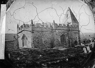 The church, Llaneilian