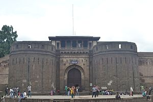 Maratha Empire - Shaniwarwada palace fort in Pune, it was the seat of the Peshwa rulers of the Maratha Empire until 1818.